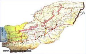 Turkmen Sahra Map TN