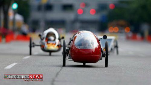 shell eco marathon americas prototype cars on track