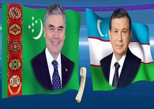zbegistan bilen Türkmenistanyň prezidentleri 1 - توسعه روابط محور گفتوگوی رؤسای جمهور ازبکستان و ترکمنستان