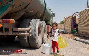 آبرسانی ۲۸ روستای شهرستان مراوهتپه با تانکر