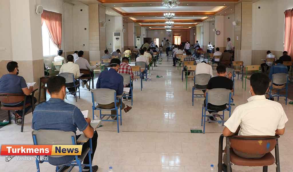 کارشناسی ارشد دانشگاه شمس گنبد 1 - آزمون کارشناسی ارشد در گنبدکاووس برگزار شد+ تصاویر