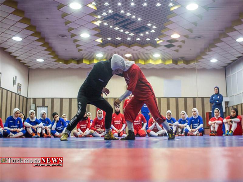آغاز اردوی تیم ملی کشتی آزاد زنان در بندرگز