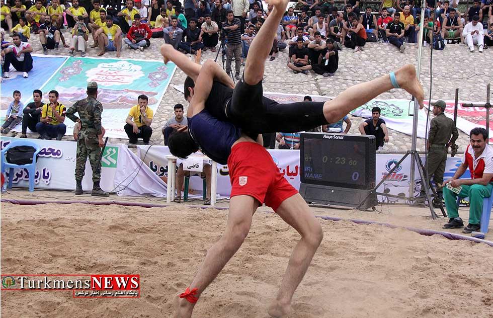 اردوی تیم کشتی ساحلی گلستان برگزار می شود