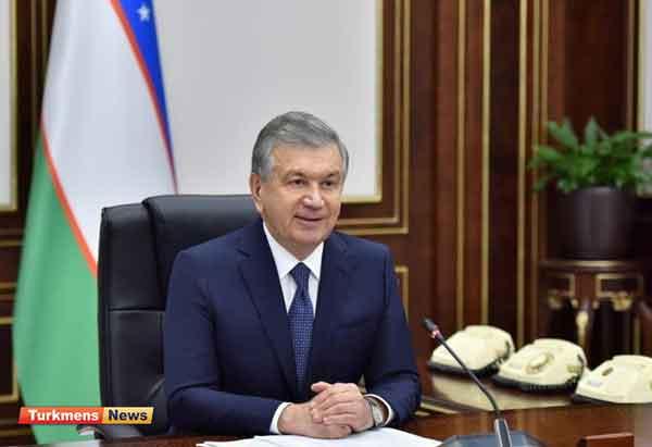 16 - Hulusi Akar, Özbegistanyň Prezidenti Mirziýoýew Tarapyndan Kabul Edildi