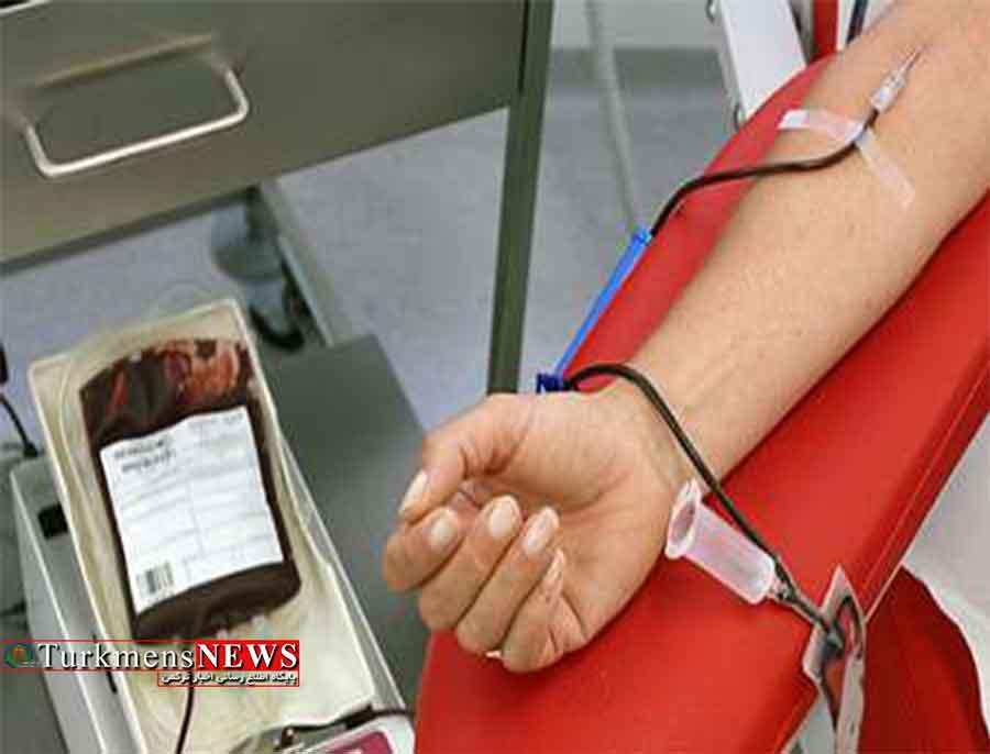 از ابتدای سال ۱۶ هزار نفر خون خود را در گلستان اهدا کردند
