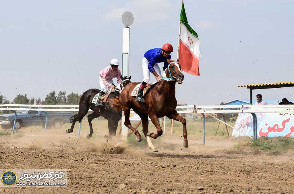 هفته اول مسابقات اسبدوانی بهاره شهرستان ترکمن ۷ خرداد استارت میخورد