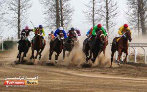 ترکمن نیوز 1 300x188 - روز دوم هفته دهم مسابقات اسبدوانی زمستانه گنبدکاووس برگزار شد+عکس