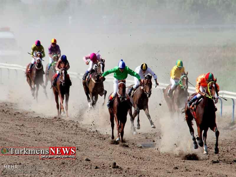 مسابقات اسبدوانی در خراسان شمالی با رقابت 40 سوارکار برگزار میشود