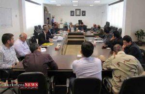 جلسه بررسی وضعیت مجتمع پرورشی میگوی گمیشان برگزار شد