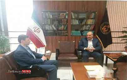 استاندار گلستان با رئیس کمیته امداد امام خمینی (ره) دیدار داشت
