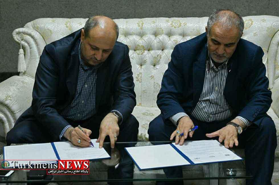 استاندار گلستان و رییس سازمان جنگلها، مراتع و آبخیزداری کشور تفاهم نامه همکاری امضا کردن
