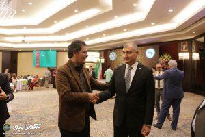 ترکمنستان تهران 10 300x200 - جشن بیست و هشتمین سالگرد استقلال ترکمنستان برگزار شد+تصاویر