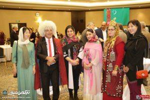 ترکمنستان تهران 5 300x200 - جشن بیست و هشتمین سالگرد استقلال ترکمنستان برگزار شد+تصاویر