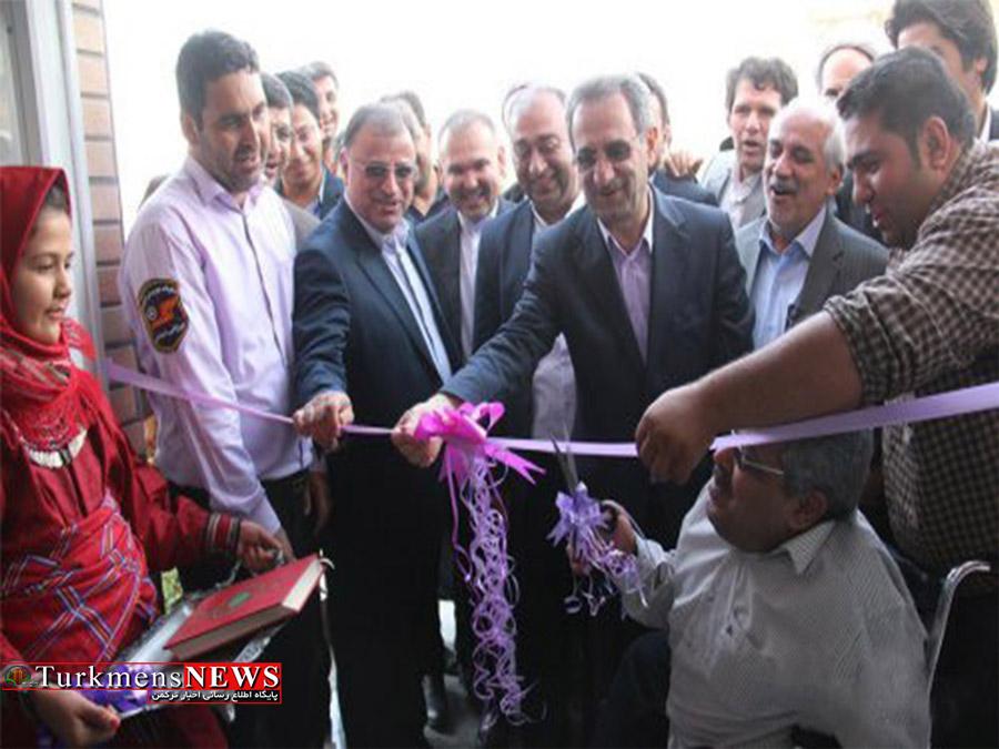 افتتاح سیصد و پنجاهمین مرکز اورژانس اجتماعی کشور در شهرستان رامیان