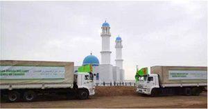 مسجد جدید افغانستان 300x158 - افتتاح مسجد جدید در افغانستان به نشانه همبستگی میان ترکمنها و افغانها