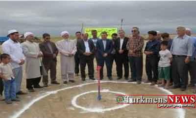 آغاز ساخت مدرسه شهید جوزاک آق قلا