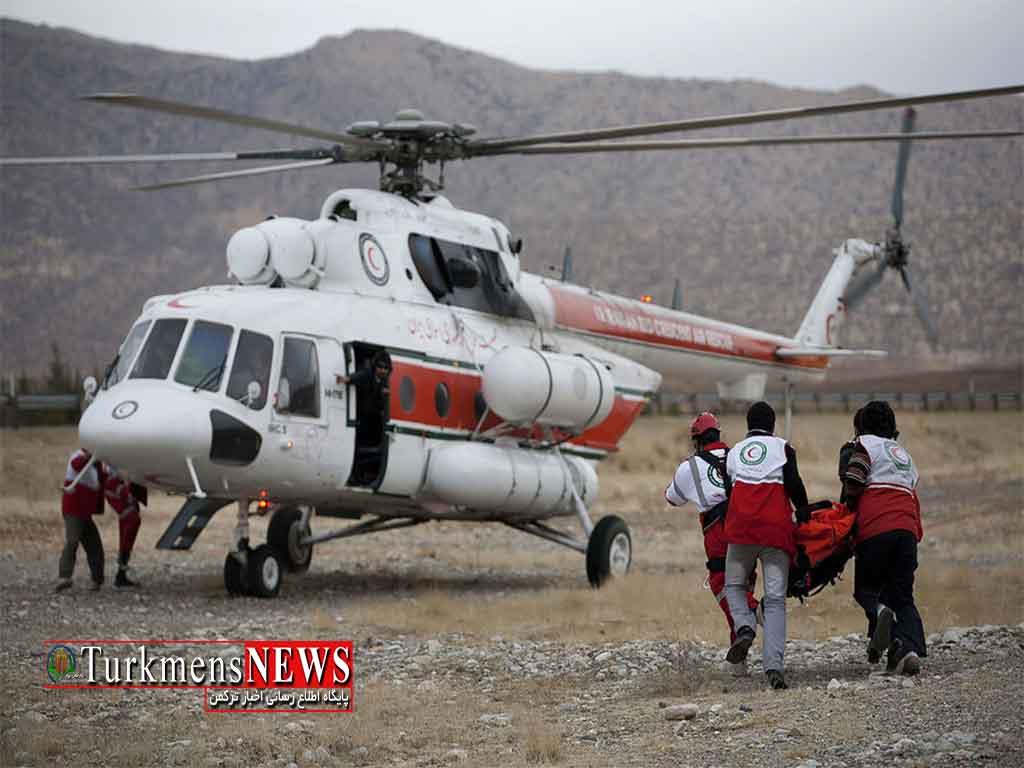 اورژانس امداد هوایی در گلستان فعال میشود
