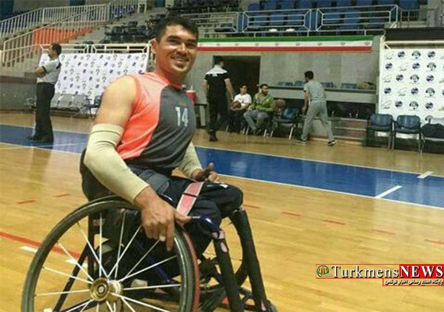 امیدواری بسکتبالیست گلستانی به حضور دربازی های پاراآسیایی