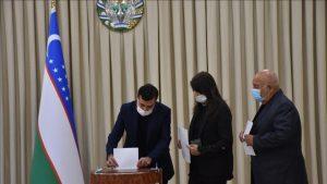 ازبکستان 5 300x169 - انتخابات ریاست جمهوری ازبکستان با نظم و کاملاً شفاف در حال برگزاری است