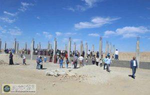 روسری برای ساخت مدرسه شهرستان مراوه تپه 4 300x190 - زنان ترکمن روسریهای خود را برای ساخت مدرسه اهدا کردند+ عکس