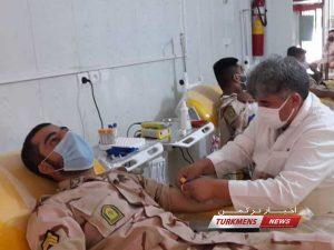 خون هنگ مرزی اترک 3 1 300x225 - یکی از تالارهای معروف شهر گنبدکاووس به مرکز واکسیناسیون عمومی اختصاص یافت+عکس