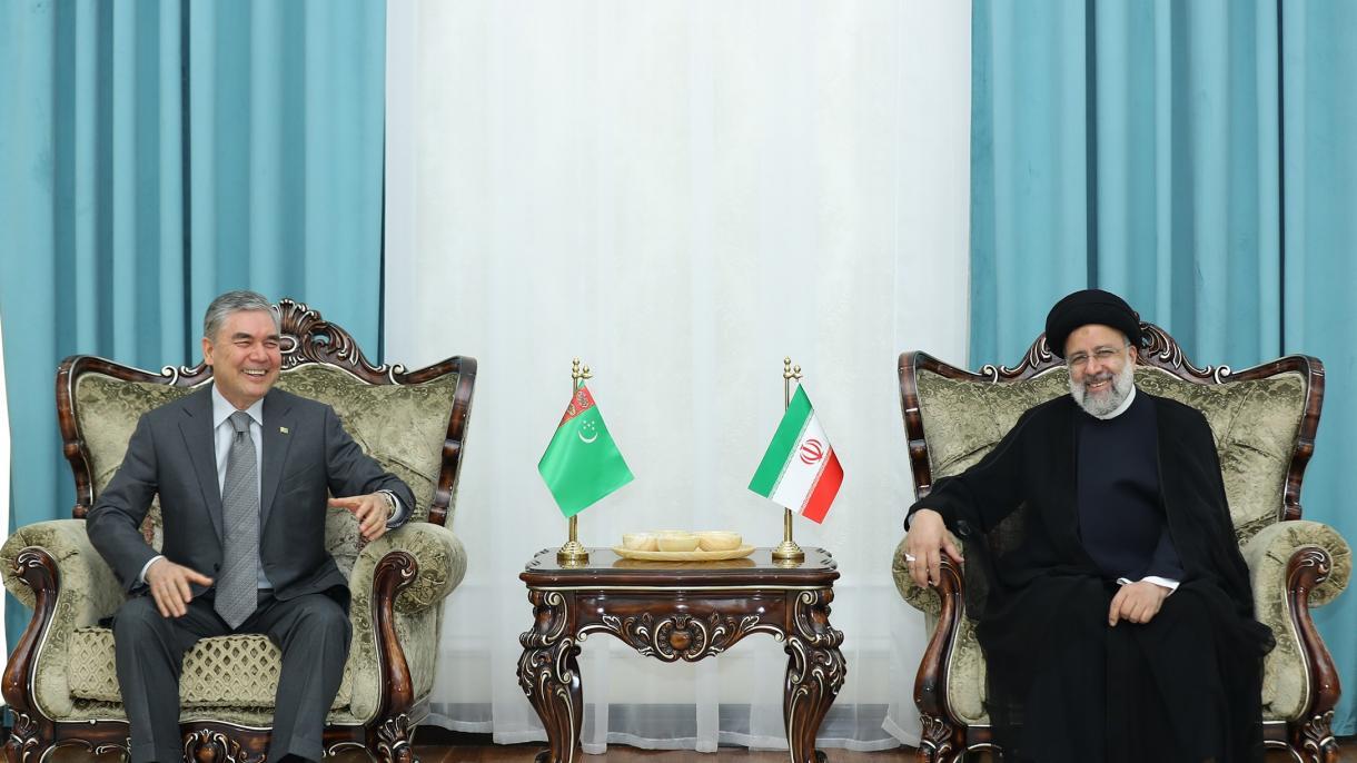 تورکمنستان - Türkmenistanyň Prezidenti Eýran Yslam Respublikasynyň Prezıdenti Bilen Duşuşdy