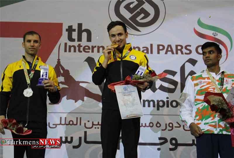 ورزشکاران ایرانی قهرمان هفتمین دوره رقابتهای بین المللی ووشو