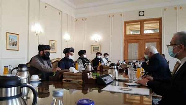 طالبان - Eýranyň, Talyban bilen owgan hökümetiniň arasynda gepleşikleri ýeňilleşdirmäge taýýardygy