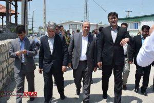 استاندار از اسکله شهرستان ترکمن 300x202 - بازدید استاندار از اسکله شهرستان ترکمن