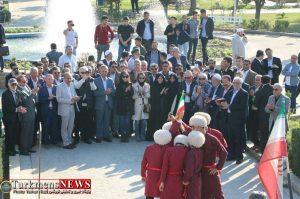 سفیران گنبدکاووس 2 300x199 - بازدید سفیران و مهمانان خارجی از جاذبههای گردشگری گنبدکاووس+عکس