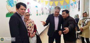 مدارس استثنائی2 300x146 - بازدید معاون سیاسی امنیتی و اجتماعی استاندار گلستان از مدرسه کودکان استثنایی مرکز استان