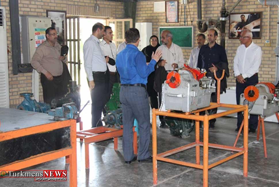 بازدید مدیرعامل شرکت گاز استان گلستان از روند برگزاري دوره آموزشي نیروهای کنتور خوان