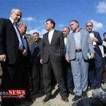 بازدید وزیر راه و شهرسازی از پروژه بزرگ راهی استان و بافت تاریخی گرگان