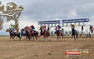 سایت ترکمن نیوز 300x188 - هفته دوم کورس اسبدوانی پاییزه کشور در گنبدکاووس برگزار شد