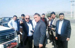 بررسی مشکلات اجرایی دو پروژه راهسازی در شرق استان گلستان
