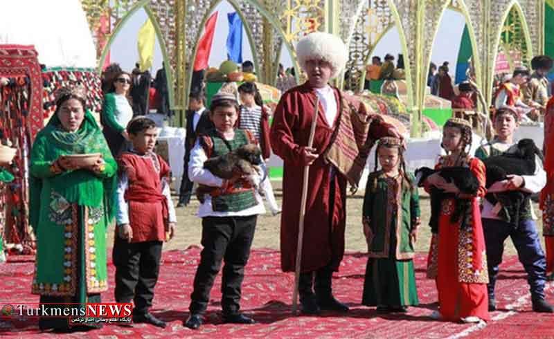 برپایی جشن های سال نو میلادی به سبک داستان های قدیم ترکمنی