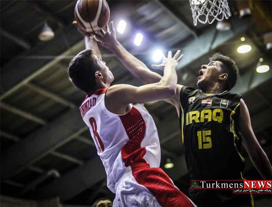 برگزاری روز دوم رقابتهای بسکتبال نوجوانان غرب آسیا