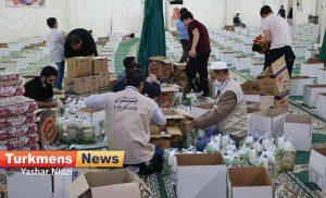 عیدانه گنبد ترکمن نیوز6 300x182 - 3 هزار بسته معیشتی عیدانه در گنبدکاووس توزیع می شود+تصاویر