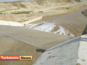 خاکی گنبد1 300x225 - سرریز شدن بندهای خاکی گنبدکاووس بر اثر بارش اخیر