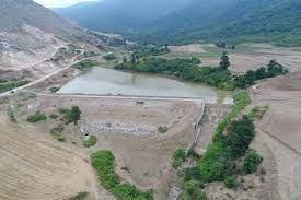 خاکی - ایجاد بند خاکی، راهکار کنترل خسارت باران و خشکسالی در استان گلستان