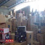 بیش از ۱۲۰ دستگاه لوازم خانگی قاچاق در گرگان کشف شد