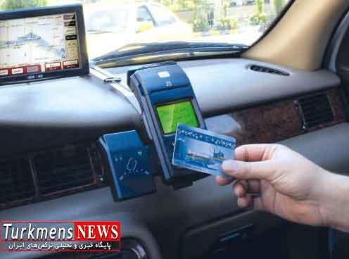 ورود تاکسی های هوشمندبه شهر گرگان