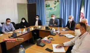 خبرنگاران گنبد.jpg ترکمن 300x178 - آیین تجلیل خبرنگاران به علت شرایط کرونا به صورت ویدیو کنفرانس برگزار شد+فیلم