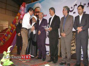 به مناسبت بزرگداشت هفته معلم از 53 معلم نمونه گنبد کاووس تجلیل شد
