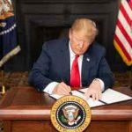 ترامپ مصوبه کنگره آمریکا برای تحریم مقامات چین را امضاء کرد