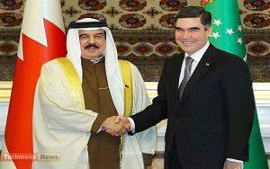 25 300x188 - Türkmenistanyň Prezidenti we Bahreýniň Patyşasy ara gatnaşyk ugurda pikir alyşdylar