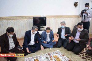 واحد مسکونی 300x200 - افتتاح یک واحد مسکونی سیل زده در شهرستان ترکمن