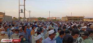 جنازه و خاکسپاری عبدالجبار مخدوم نژاد 3 300x139 - مراسم تشییع و خاکسپاری سرباز شهید عبدالجبار مختوم نژاد در آجی قوشان+عکس