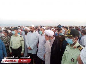 جنازه و خاکسپاری عبدالجبار مخدوم نژاد 8 300x225 - مراسم تشییع و خاکسپاری سرباز شهید عبدالجبار مختوم نژاد در آجی قوشان+عکس
