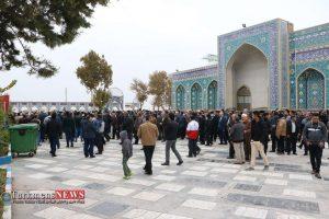 جنازه 15 300x200 - مراسم تشییع و خاکسپاری مادر محمد شهرکی خیر نمونه کشوری برگزار شد+عکس